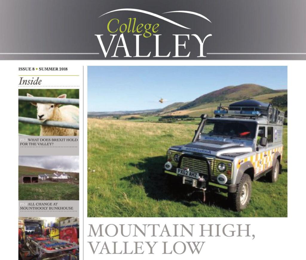Summer 2018 Newsletter – Mountain high, Valley low